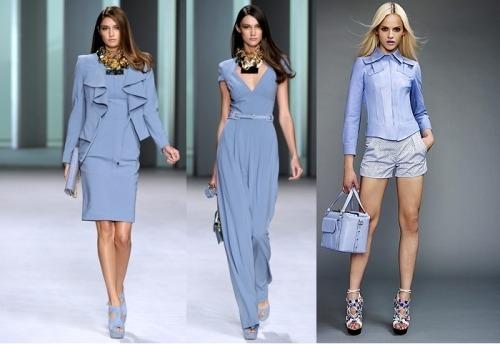 Синий цвет в одежде что означает