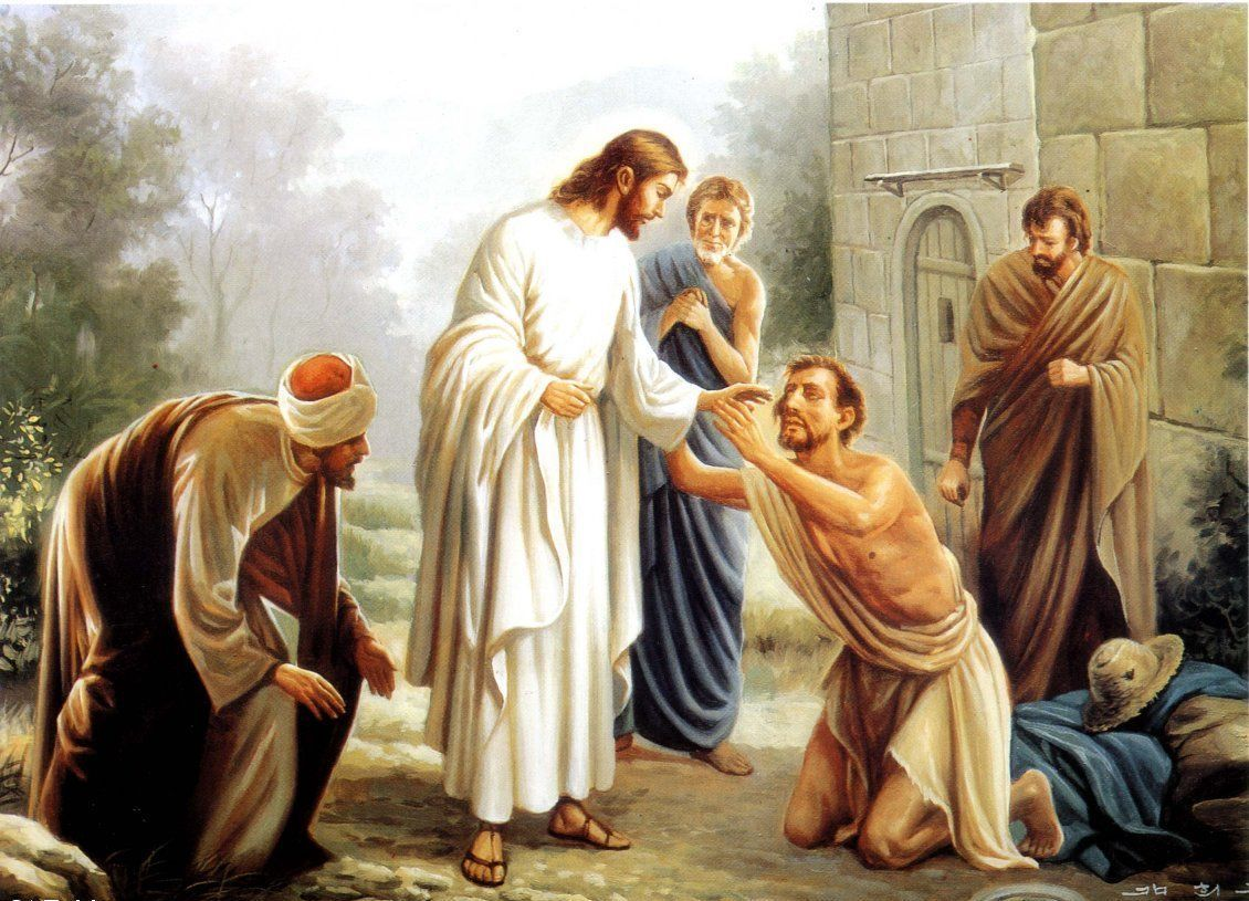 the paralysis of the priest in